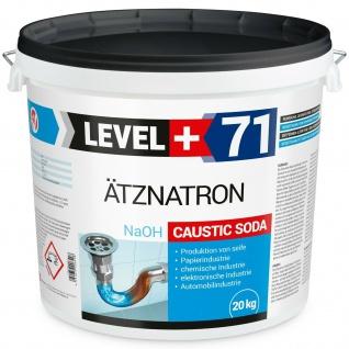 20kg Natriumhydroxid NaOH Ätznatron Entfetter Reiniger Soda Microperlen RM71