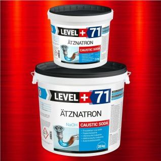 Natriumhydroxid 25kg Ätznatron NaOH Kaustisches Soda Entfetter Reiniger RM71