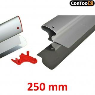 Ersatzblatt | Profi Flächenspachtel 250mm, rostfreiem Stahl 0, 3mm CT01