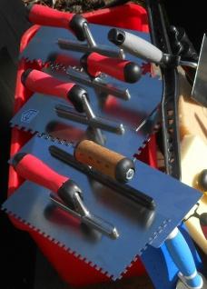 Fliesen Fugbox 15 teilig Waschset Waschbox Zahnkelle Fugbrett Glattkelle Schwamm - Vorschau 4