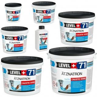 Ätznatron, Caustic Soda 1kg -100kg Natriumhydroxid NaOH Microperlen Level+ RM71