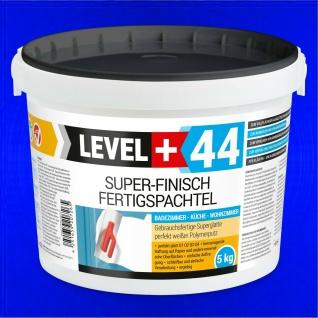 5kg Spachtel Masse Fertigspachtel Glätt Q4 Bad Küche LEVEL PLUS RM44