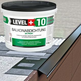 Balkonabdichtung 10Kg Dichtschlämme 2K flexible Abdichtung Terrasse Bad RM10