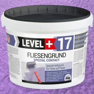 Fliesengrund 4kg Fliesengrundierung Fliese auf Fliese Haftgrund Quarzgrund RM17