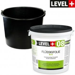 Dichtset Flüssigfolie 25kg + kostenlos Baueimer PVC 20L Badabdichtung SET404