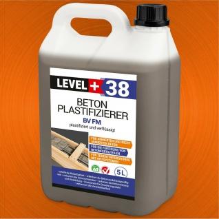 Beton-Zusatzmittel 5L Fliessmittel Betonverflüssiger Plastifizierer LEVEL+ RM38