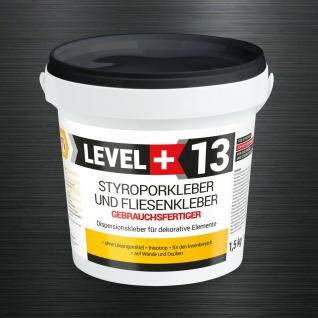 1, 5kg Styroporkleber Schneeweiß Renovier Dispersionkleber Polymerbasis RM13