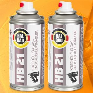 Kriechöl Schmiermittel Korrosionsschutz 2St für Druckluftnagler Gasnagler HB21