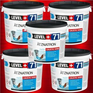 Caustic Soda 100 kg Ätznatron Soda Rohrreiniger Natriumhydroxid NaOH HQ RM71