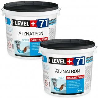40 kg Ätznatron, NaOH Natriumhydroxid Perlen Caustic Soda RM71