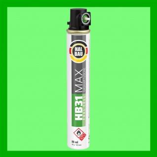 1 Stk. Gaskarusche 165mm | 80ml Fuel Cell Ersatzgas für Nagler grün Ring HB31