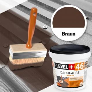 1, 5 kg flexibler DachfarbeDachanstrich Haussockel Schutzanstrich Braun RM46