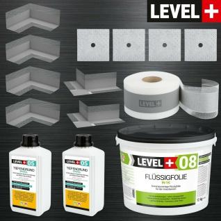 Dicht-Set für Duschabdichtung ca 5m² oder Badabdichtung ca 10m² TOP LEVEL PLUS