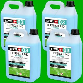 Level+ 20L TiefenGrund LF PROFI Spezial Grundierung SCHNELL hohe Qualität RM03