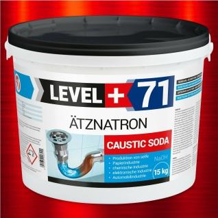 Ätznatron NaOH 15kg Soda Microperlen Natriumhydroxid Entfetter Reiniger RM71