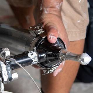 DEWALT MUDSHOT Schlam Gipskartonfüllerpumpe mit Gasfederantrieb mühelose Arbeit - Vorschau 1