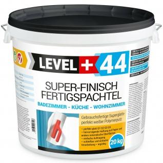 20kg Spachtel Masse Fertigspachtel Super Finish Gips Glätt Flächen Füll Bad RM44