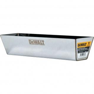Spachtelkasten DEWALT Schlammpfanne aus rostfreiem Stahl 3 Größen 305-356-407mm
