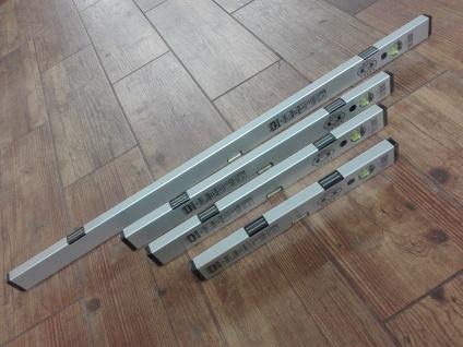 Alu-Wasserwaage mit Magnet 40-60-80-100-120-150-200 cm PROFI