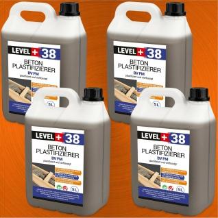 Beton-Zusatzmittel 20L Fliessmittel Betonverflüssiger Plastifizierer HQ+ RM38