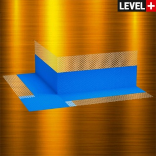 Dichtecke 100 St. Außenecke für Bad Flüssigfolie Dichtband Dichtbachn Level+ B01