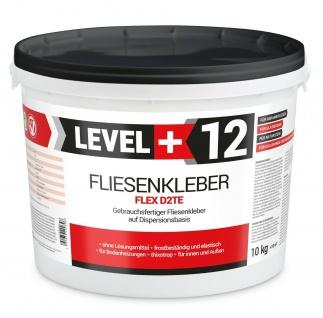 10kg Fertig-Fliesenklebe Flexkleber Steinkleber Keller Terras hohe Qualität RM12