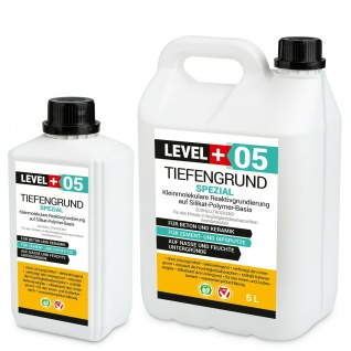1-100L Tiefengrund LF mit Kaliwasserglas Tiefgrund Wassergläser Haftgrund RM05
