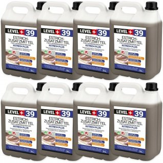40L PROFI Estrichzusatz-Fußbodenheizung-Plastifizierer für Zementestriche RM39