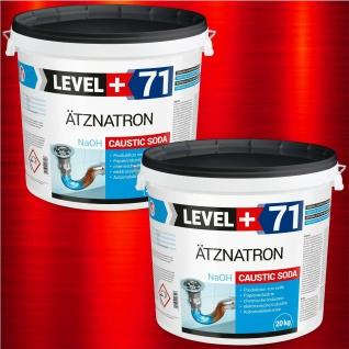 Ätznatron 40kg NaOH Natriumhydroxid Perlen Natron Entfetter Reiniger RM71