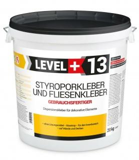 20kg Styroporkleber Schaum- Dispersionkleber Polymerbasis Deckenplatten TOP RM13