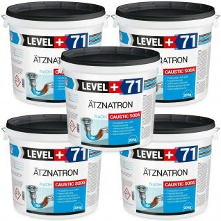 100kg Ätznatron Natriumhydroxid NaOH Soda Rohrreiniger Level+ RM71