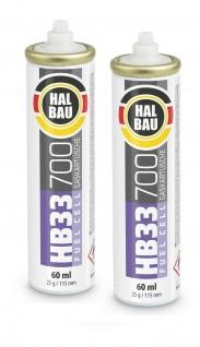 HALBAU HB33 2Stk. Brennstoff für gasbetriebene Setzgeräte Nagler PULSA 700 115mm