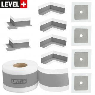 Abdichtung Set Innen- Außenecke Dichtband für Bad Dusche Küche Qualitat SETG7