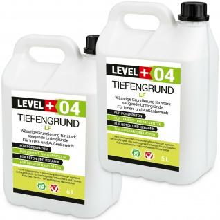 TiefenGrund LF 10L Tiefgrund Grundierung Tiefengrund LF Qualitätsgarantie RM04