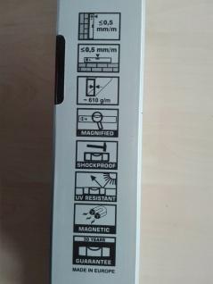 Alu-Wasserwaage mit Magnet 40-60-80-100-120-150-200 cm PROFI - Vorschau 2
