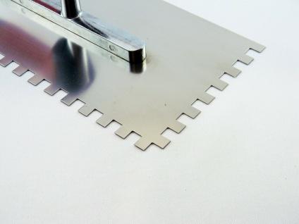 CONTOO Profi Zahnkelle 8 x 8 mm Zahnung RF 0, 7mm Zahntraufel 280x130mm 2-K Griff