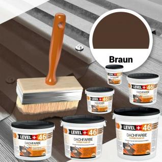 BRAUN Flüssige Dichtmembran Dachfarbe 1, 5kg-25kg Sockel Dachbeschichtung HQ RM46