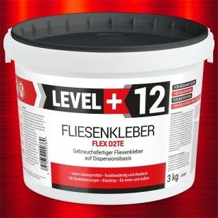 Fertig-Fliesenkleber 3KG Flexkleber Flexmörtel Dispersionkleber RM12