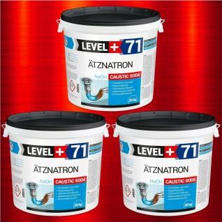 Caustic Soda 60 kg Ätznatron Natriumhydroxid NaOH Rohrreiniger RM71
