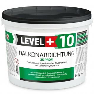 Profi Balkonabdichtung 14Kg Dichtfolie Terrasse Bad Dusche Wände Qualität RM10