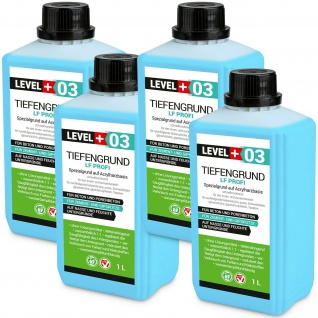 Tiefengrund LF PROFI 4 L Haftgrund höchste Qualität LEVEL+ RM03