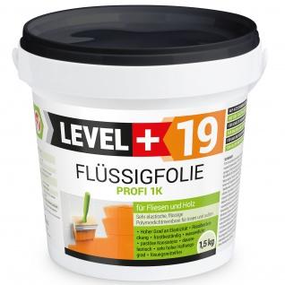 1, 5 kg Flüssigfolie Profi Innen und Außenbereich Badabdichtung Dichtfolie RM19