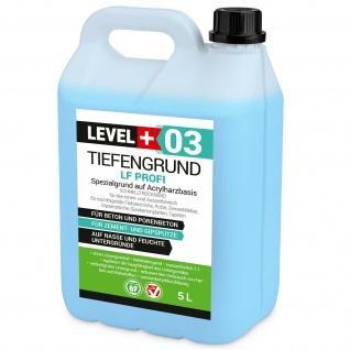 5L Tiefengrund LF PROFI Grundierung Gebrauchsfertig Qualität RM03