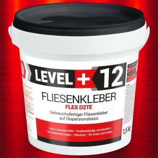 1, 5 Kg Fertig Fliesenkleber Dispersionkleber Flexmörtel wasserdicht TOP RM12
