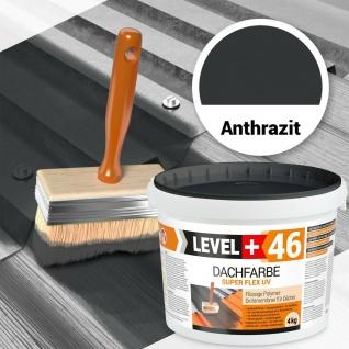 Anthrazit Dachfarbe 4kg , Sockelfarbe FLEX HQ Level+ RM46