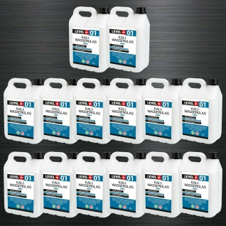70L Kaliwasserglas Grundierung Tiefengrund Kaliwasserglas Plus Qualität RM01