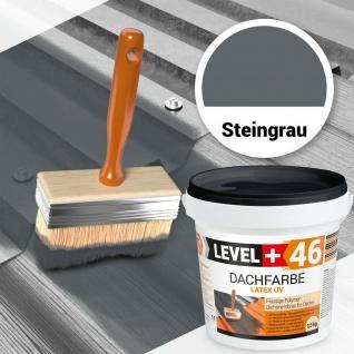 Dachfarbe Steingrau 1, 5kg Sockelfarbe SUPER FLEX Polymermembran PROFI RM46