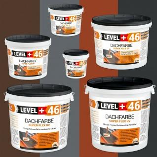 Dachfarbe 1, 5kg - 25kg Sockelfarbe elastisches Dachlack Schutzanstrich RM46
