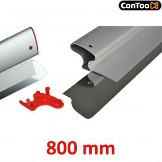 Profi Ersatzblatt 800 mm Flächenspachtel, Superflexibles Blatt 0, 3 mm CT01