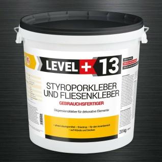 20kg Styroporkleber Dispersionkleber Polymerbasis Deckenplatten Top Kleber RM13